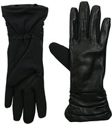 URBAN RESEARCH U R Women's Ruched Leather Stretch Glove