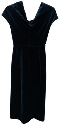 Emilio De La Morena Green Silk Dress for Women