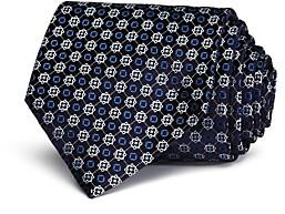 Ermenegildo Zegna Framed Dot Classic Tie