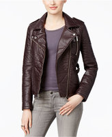 Rachel Roy Faux-Leather Moto Jacket, Only at Macy's