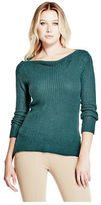 GUESS Women's Audrey Cable Sweater