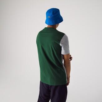 Lacoste Men's SPORT Colorblock Paneled Lightweight Cotton T-shirt