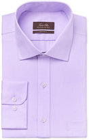 Tasso Elba Men's Classic-Fit Lavender Twill Dress Shirt, Only at Macy's