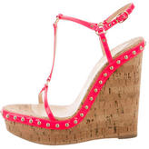 Christian Louboutin Jamie Lee Studded Wedges