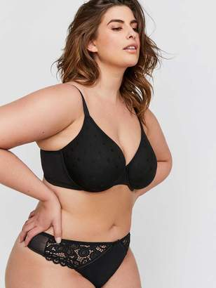 Smooth Operator Polka Dot Mesh Bra - Deesse Collection
