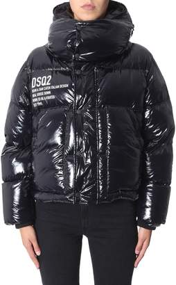 DSQUARED2 Puffed Bomber With Hood