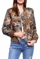 Love Tree Camouflage Bomber Jacket