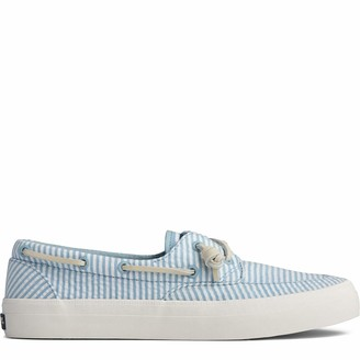 Sperry Women's Crest Boat Seersucker Shoe