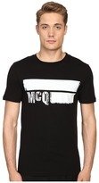 McQ by Alexander McQueen Short Sleeve Crew Tee Men's T Shirt
