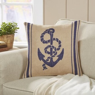 Greeley Anchor Pillow Cover Breakwater Bay