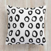Minted Painted Circles Self-Launch Square Pillows