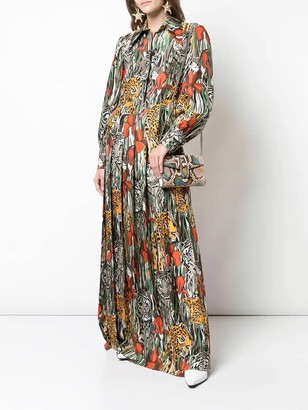 Gucci Hidden Animal Maxi Dress