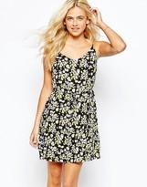 Oasis Printed Cami Dress