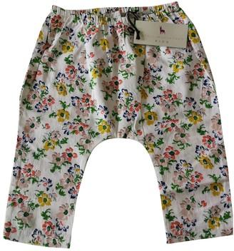 Stella McCartney Stella Mc Cartney White Cotton Trousers