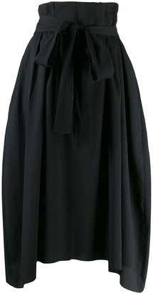 Henrik Vibskov Exhale textured asymmetric skirt