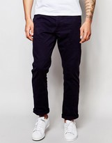 Ringspun Slim Fit Chino Trousers