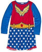 Asstd National Brand DC Super Heroes Wonder Woman Nightshirt with Cape