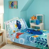 Disney Finding Dory Bubbles 4-Piece Toddler Bedding Set