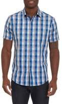 Robert Graham Men's Greenfield Dobby Check Sport Shirt