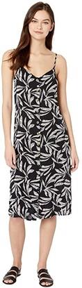 Rip Curl Ooh La Leaf Midi (Black) Women's Dress