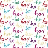 Fringe Brush Ho Ho Ho! Gift Wrap