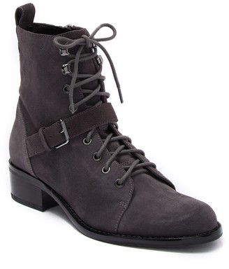 Via Spiga Cyra Suede Lace-Up Boot