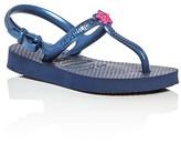 Havaianas Girls' Freedom Star T-Strap Slingback Flip-Flops