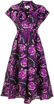 Temperley London Elsa V-neck short dress