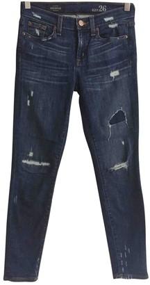 J.Crew Blue Cotton - elasthane Jeans for Women