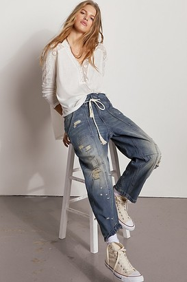 We The Free In My Time Denim Cargo Jeans