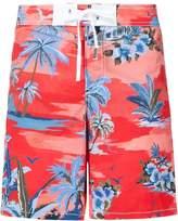DSQUARED2 palm print swim shorts