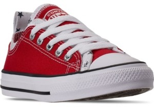 Converse Little Boys Chuck Taylor All Star Double Upper Low-Top Casual Sneakers from Finish Line