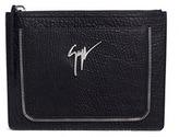 Giuseppe Zanotti Design Grainy leather document holder