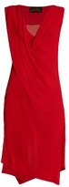 Vivienne Westwood Stitch draped crepon dress