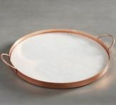 Pottery Barn Marble and Copper Serving Tray