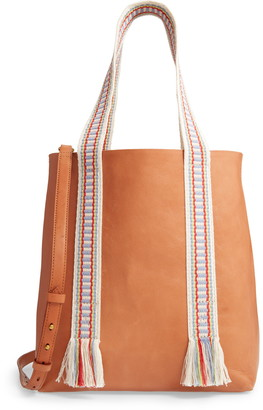Madewell The Medium Transport Tote: Woven Handle Edition