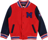 Little Marc Jacobs Denim Sleeve Baseball Jacket