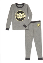 Intimo Batman Gray Logo Pajama Set - Toddler
