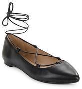 424 Fifth Charisma Leather Flats