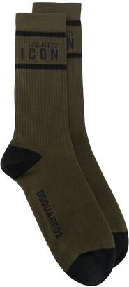 DSQUARED2 Icon logo socks