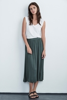 Ellery Stretch Satin Skirt