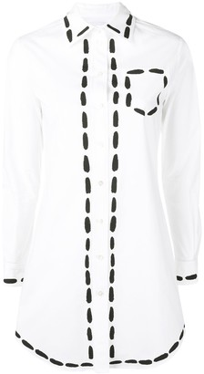 Moschino Long Painted Shirt