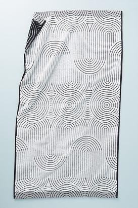 Anthropologie Janni Velour Bath Towel Collection By in Orange Size BATH TOWEL