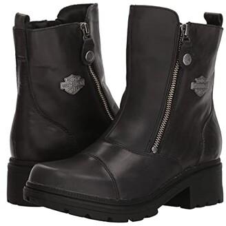 Harley-Davidson Amherst (Black) Women's Zip Boots