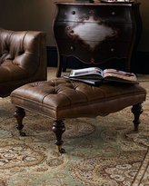 Old Hickory Tannery Tufted Ottoman