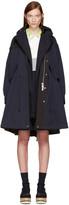 Sacai Navy Twill Coat