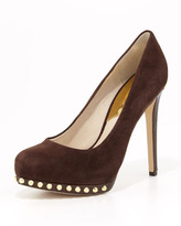 MICHAEL Michael Kors Ailee Studded Suede Pump