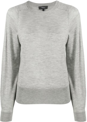 Theory Crew Neck Cashmere Jumper