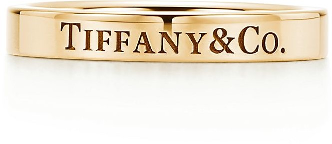 Tiffany & Co. band ring in 18k gold, 3 mm