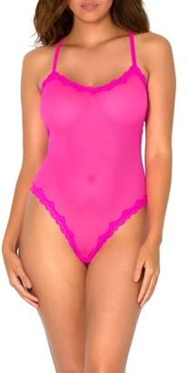 Smart & Sexy Sheer Lace & Mesh Bodysuit